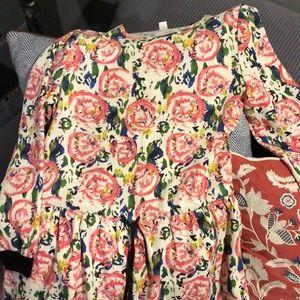 Anthropologie Drop-waist Dress